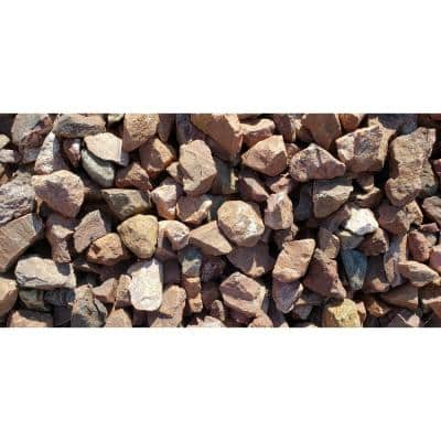 "10 cu. ft. Canyon Red .75"" - 1.25"" Decorative Stone - (1 Bag/10 cu. ft./Pallet)"