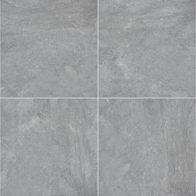 Vulkon Grey 24 in. x 24 in. Square Matte Porcelain Paver Floor Tile (14 Pieces/56 sq. ft./Pallet)