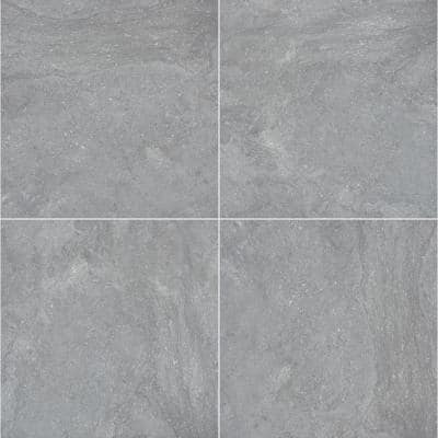 Vulkon Grey 24 in. x 24 in. Matte Porcelain Paver Tile (14 pieces / 56 sq. ft. / pallet)