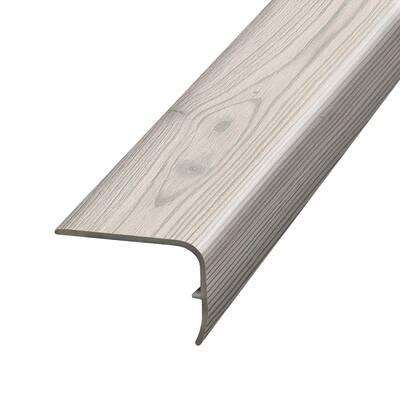 Verdin Pine 1.32 in. T x 1.88 in. W x 78.7 in. L Vinyl Stair Nose Molding