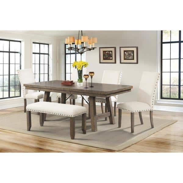 Picket House Furnishings Dex 6 Piece, 6 Piece Dining Room Set