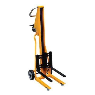 260 lb. Capacity 19 in. x 54 in. Portable Mini Stacker