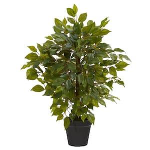 20 in. Mini Ficus Artificial Tree
