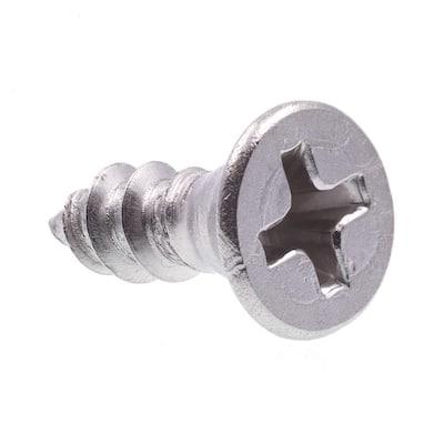 2 X 5//8 in Zinc Plated Steel 50-Pack Flat Head Prime-Line 9033969 Wood Screws Phillips Drive