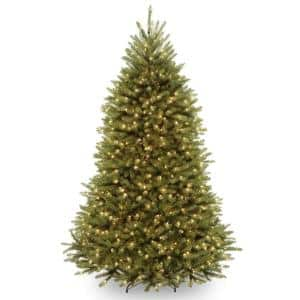 7 ft. Dunhill Fir Hinged Tree with 650 Dual Color LED Lights and PowerConnect