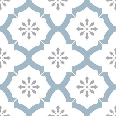 Alfama Peel and Stick Floor Tiles 12 in. x 12 in. (20 Tiles, 20 sq. ft.)