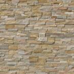 Golden Honey Ledger Panel 6 in. x 24 in. Natural Quartzite Wall Tile (6 sq. ft. / case)