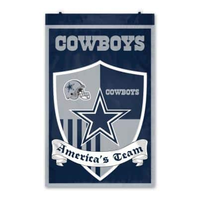 Dallas Cowboys Shield Crest Wall Tapestry