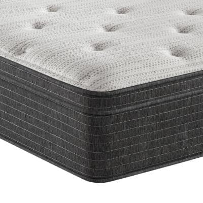 BRS900 13 in. Plush Euro Top Mattress with 9 in. Box Spring