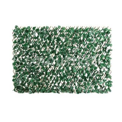 Expandable Ivy Leaf Vines Willow Trellis Privacy Fencing Screen