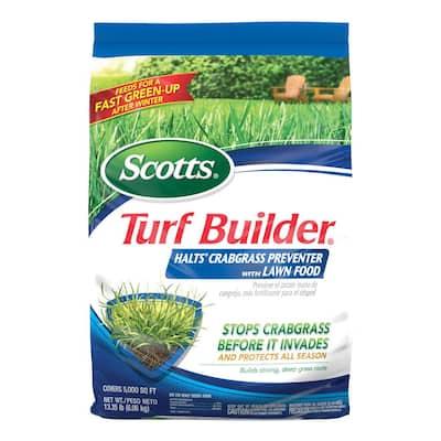 Turf Builder 13.58 lb. 5,000 sq. ft. Halts Crabgrass Preventer Lawn Fertilizer