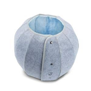 K1 Dragon Ball Medium Blue Cat Cave Bed