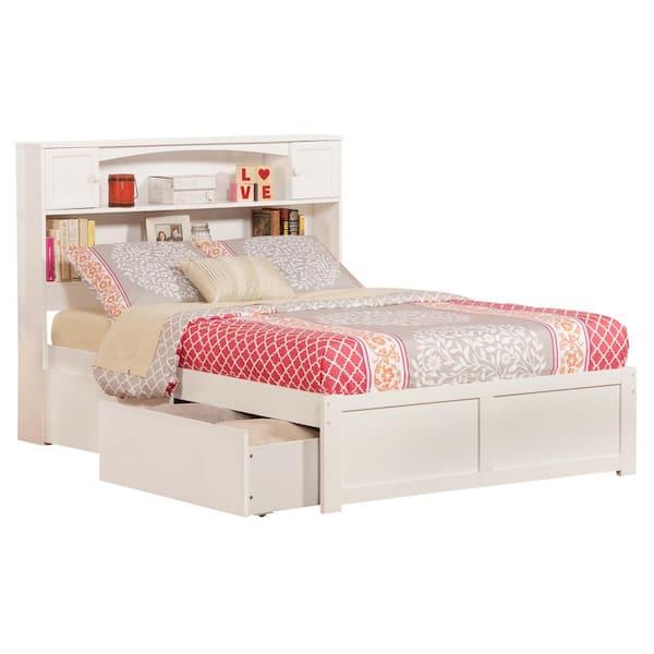 Atlantic Furniture Newport White Full, Atlantic Bed And Furniture