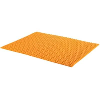 Ditra-Heat 3 ft. 2-5/8 in. x 2 ft. 7-3/8 in. Uncoupling Membrane Sheet