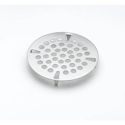 3-1/2 in. Flat Strainer Stainless Steel