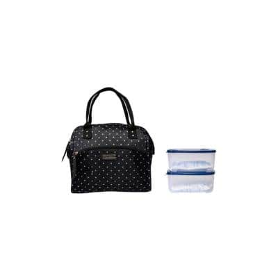 Leah Wide Mouth Lunch Tote