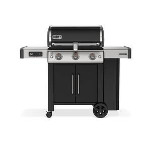 Genesis II EX-315 3-Burner Propane Gas Smart Grill in Black