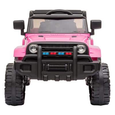 3 Speed 12-Volt Kids Ride On Car with MP3 Player, LED Lights, Remote Control