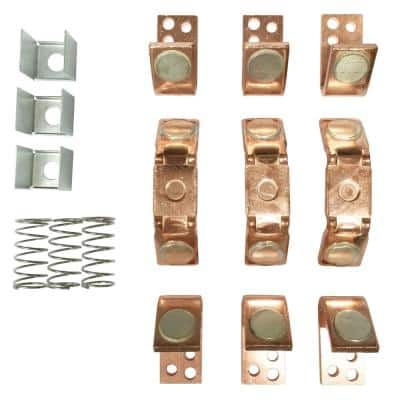 Replacement 3 Pole Contact Kit for General Electric 200 and 300 Line, NEMA Size 5