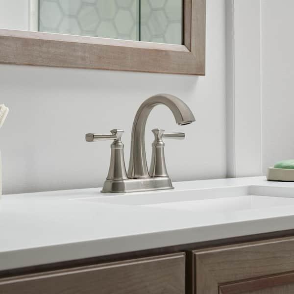 https www homedepot com p american standard rumson 4 in centerset 2 handle bathroom faucet in brushed nickel 7417201 295 312581884