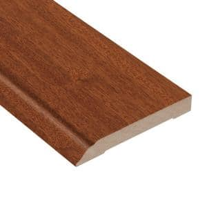 Cimarron Mahogany 1/2 in. Thick x 3-1/2 in. Wide x 94 in. Length Wall Base Molding