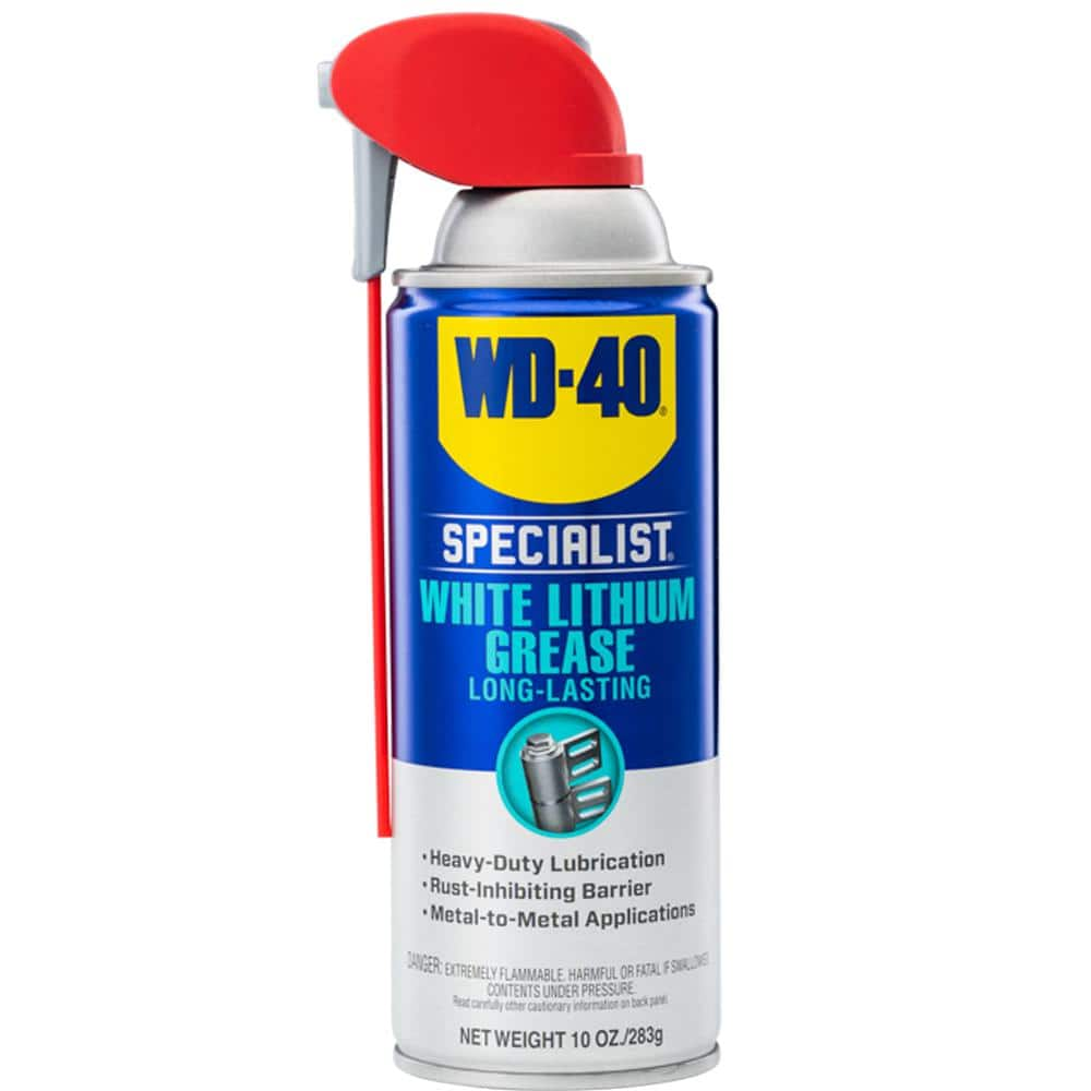 WD-40 SPECIALIST 10 oz. White Lithium Grease