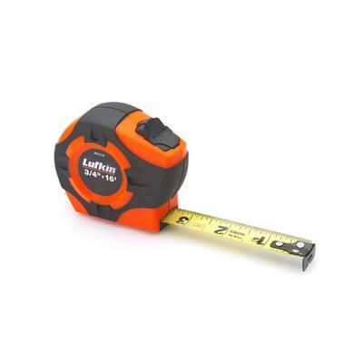 P1000 3/4 in. x 16 ft. Hi-Viz Orange Tape Measure