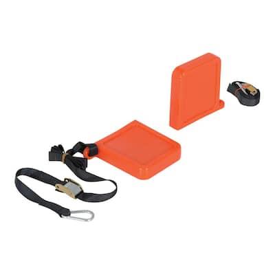 Orange Fork Tip Protector Thin