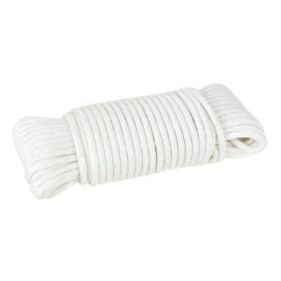 1/8 in. x 50 ft. Paracord Rope, White