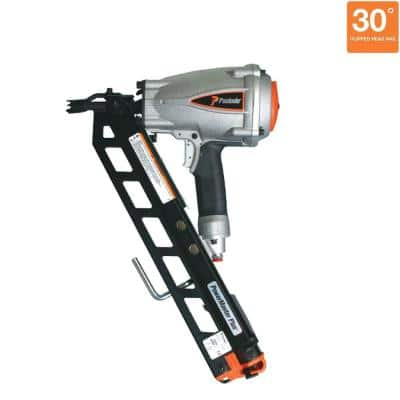 Pneumatic 3-1/2 in. 30-Degree PowerMaster Plus Clipped-Head Framing Nailer