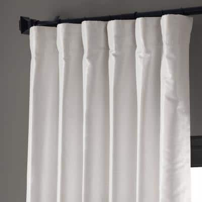 Ice Textured Rod Pocket Blackout Curtain - 50 in. W x 120 in. L