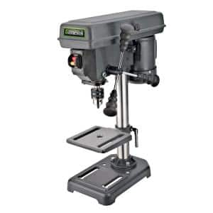 2.6 Amp 8 in. 5-Speed Drill Press with 1/2 in. Chuck, Adjustable Depth Stop, Tilt Table and Chuck Key