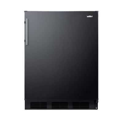5.1 cu. ft. Mini Refrigerator with Freezer in Black, ADA Compliant