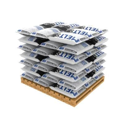 Melt 50 lb. Calcium Chloride Crystals Ice Melter (Pallet of 49 Bags)