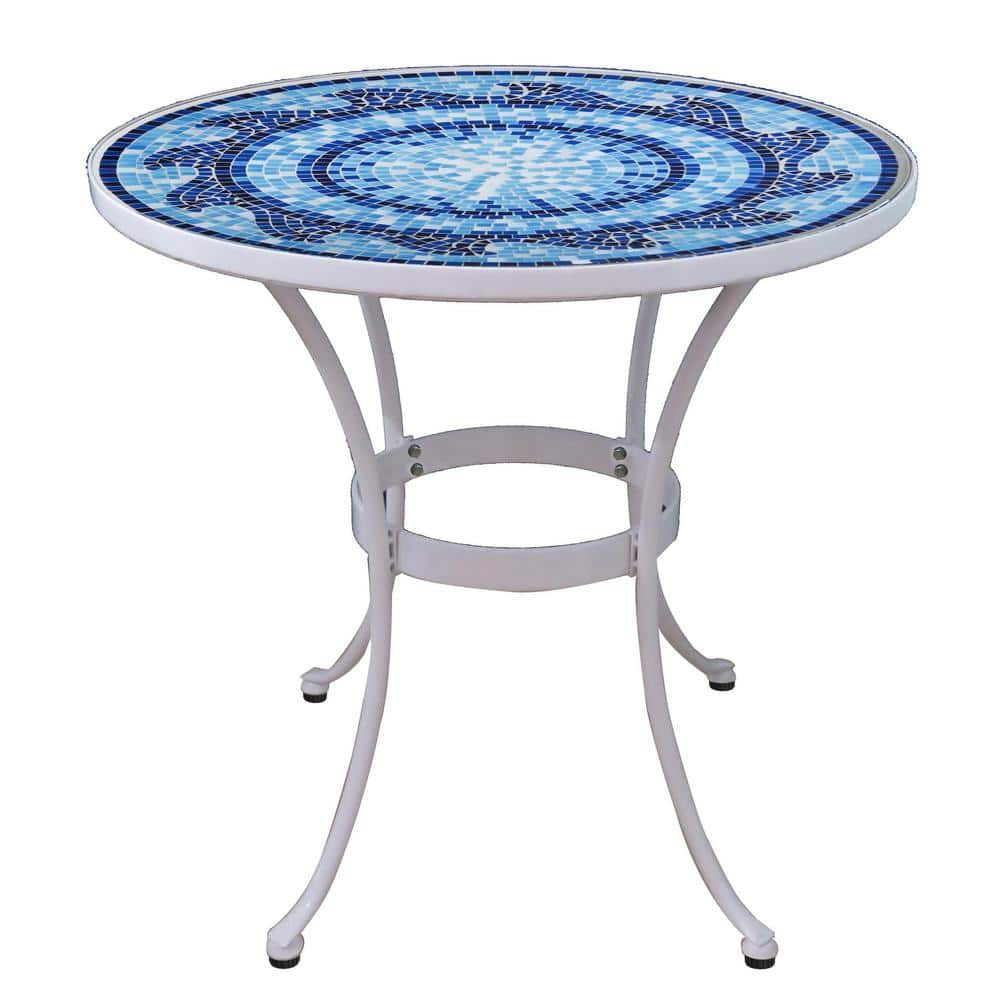 Mosaic Outdoor Weather Resistant Bistro Table