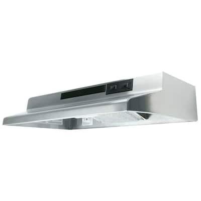 AV Series 21 in. Under Cabinet Convertible Range Hood with Light in Stainless Steel