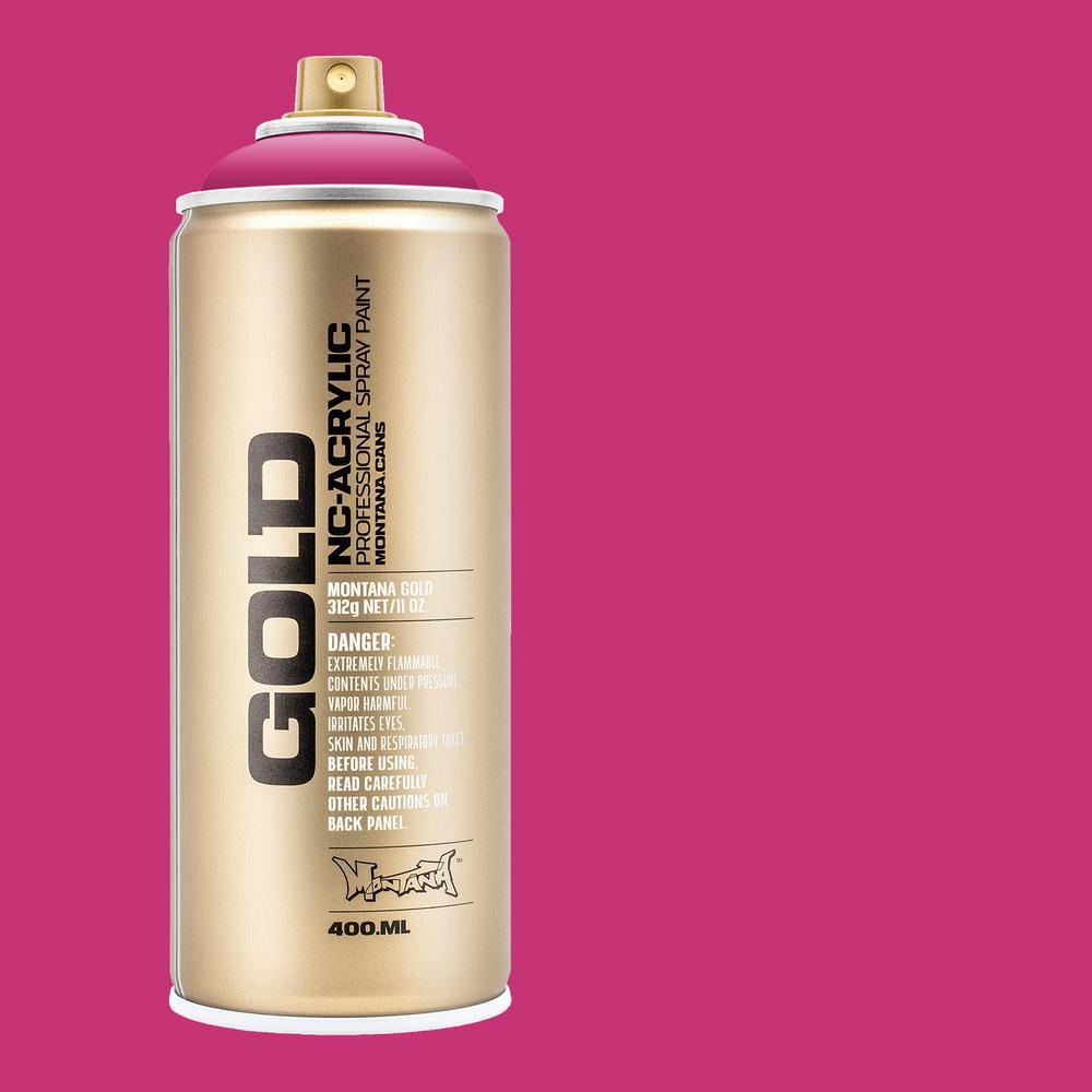 11 oz. GOLD Spray Paint, Shock Pink