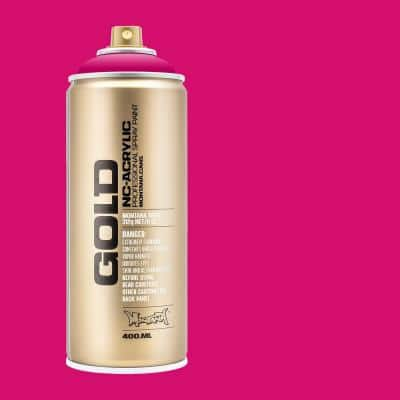 11 oz. GOLD Spray Paint, Process Color, 100% Magenta