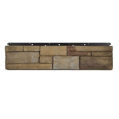 8 in. x 36 in. Versetta Stone Tight-Cut Flat Plum Creek Siding (6-Bundles)