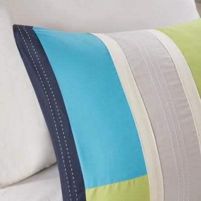 Switch Pieced Duvet Cover Set