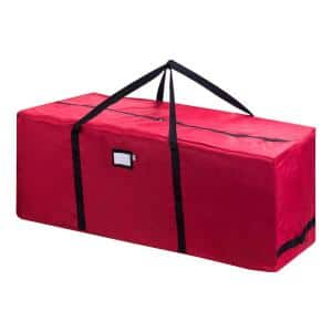 Premium Christmas Tree Rolling Storage Duffle Bag for Trees Up to 9 ft. Tall