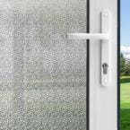3 ft. x 6.5 ft. Winter Morning Privacy Control Window Film