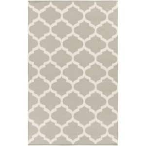 Vogue Everly Gray 4 ft. x 6 ft. Indoor Area Rug