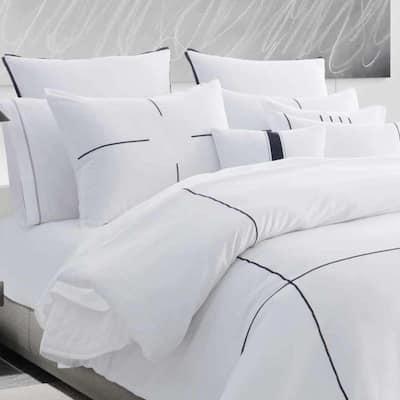 Zig Zag Cotton Comforter Set
