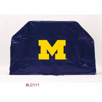 68 in. NCAA Michigan Grill Cover