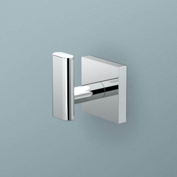 Gatco Form Robe Hook In Chrome 5335 The Home Depot