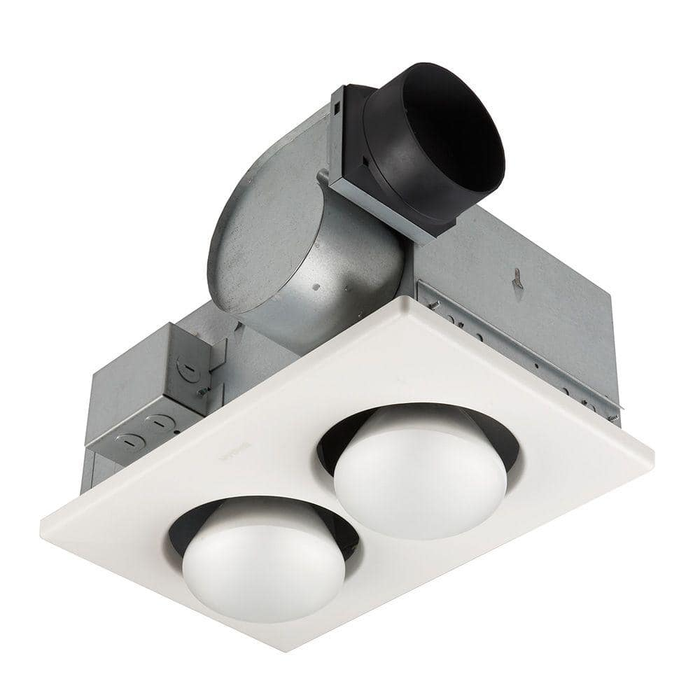 Broan Nutone 70 Cfm Ceiling Bathroom, Bathroom Vent Heater And Light
