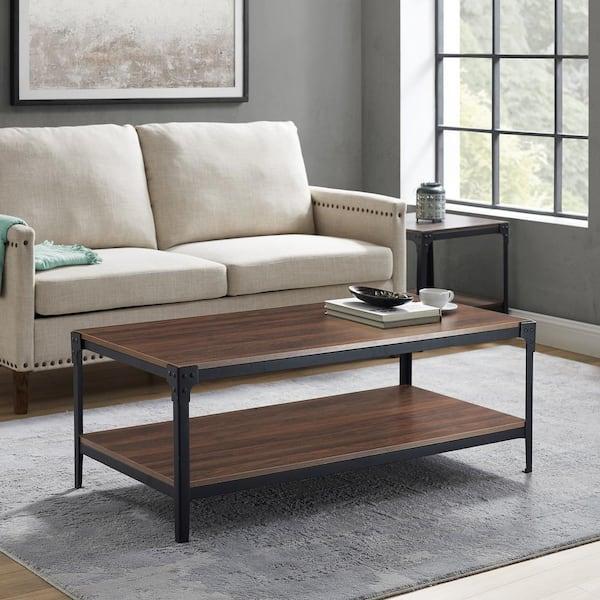 Walker Edison Furniture Company 48 In, Rustic Modern Furniture Company