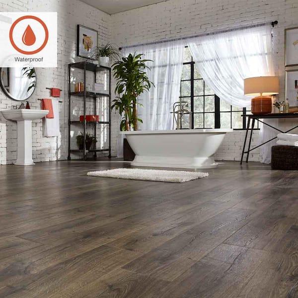 Pergo Outlast 7 48 In W Vintage, Waterproof Laminate Flooring Home Depot Canada