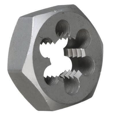 1-1/4 in.-18 Carbon Steel Hex Re-Threading Die